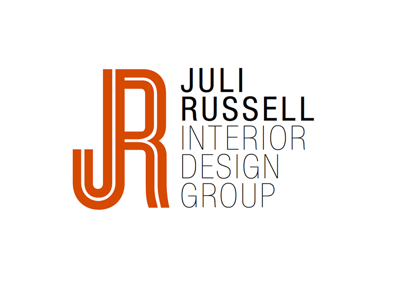 Juli Russell Logo 3 logo logotype modern