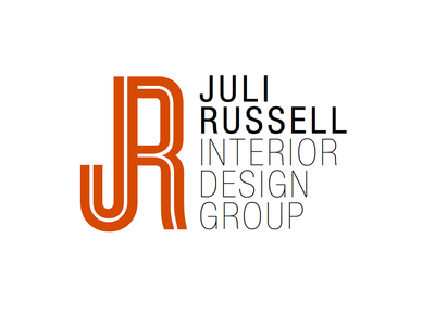 Juli Russell Logo 3 Option For An Interior Design