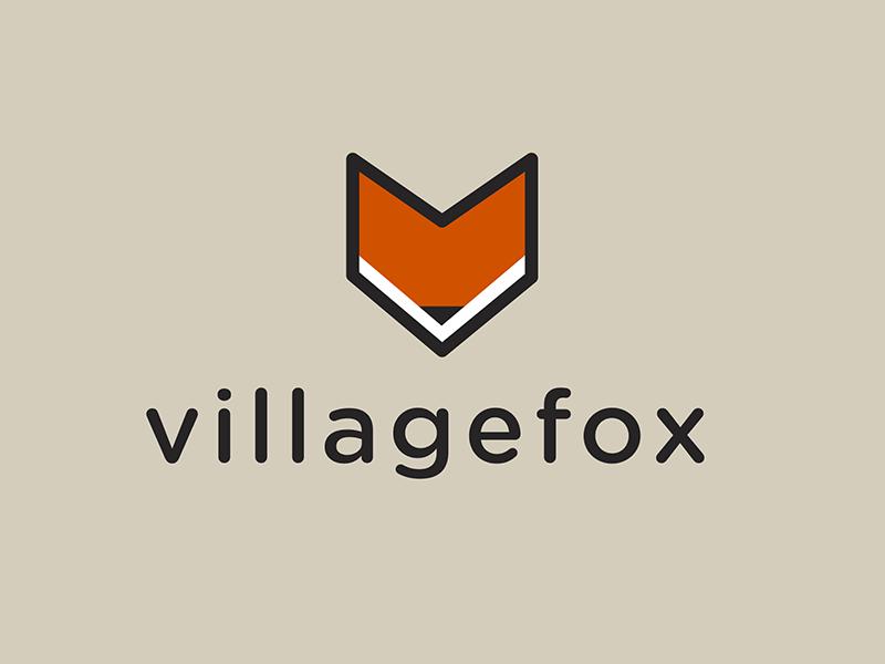 villagefox Logo logo illustration