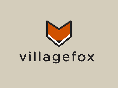villagefox Logo logo illustration