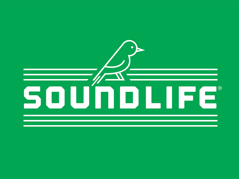 Soundlife Logo Option 01 dove bird iconography illustration