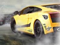 Race Car Wreck