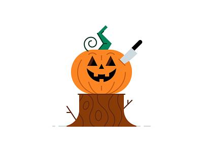 Jack O'Lantern fall autumn spooktober scary spooky 31daysofhalloween character design illustration jackolantern pumpkin holiday halloween october