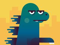 Godzilla is Unimpressed