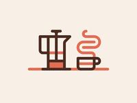 Caffeinated Icon Set - Cafe