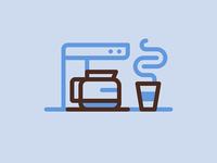 Caffeinated Icon Set - Diner