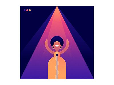 Aretha illustration love music soul riparethafranklin queenofsoul arethafranklin