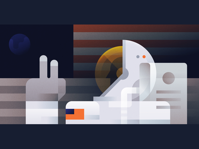 Apollo 11 illustration usa neil armstrong moon landing moon astronaut apollo 50 apollo apollo 11 space nasa