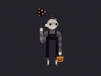 Trick or Treat - Halloween Boy
