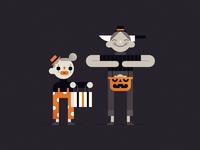 Trick or Treat - Hobo Clowns