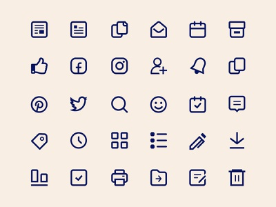Sparkfive Icons icons pack user interface design user interface marketing social vector iconset icons design icon iconography ui icons