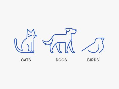 Petmate Animal Icons - Jeff Zepeda