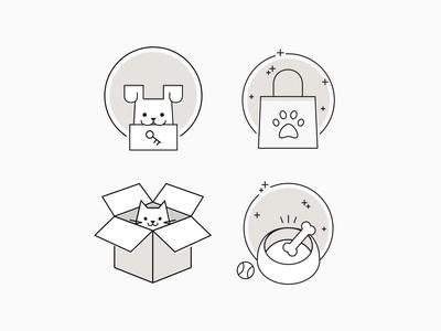 Petmate E-comm Icons - Jeff Zepeda