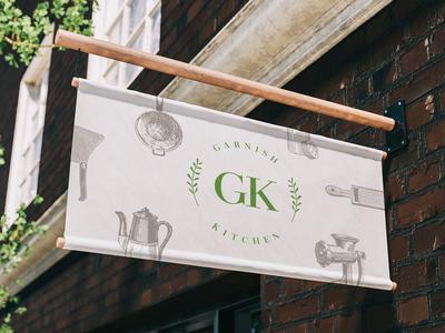 Garnish Kitchen Branding