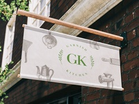 Garnish Kitchen Branding