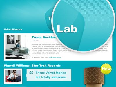 Velvet shop - The Lab