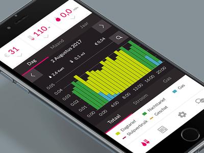Essent EnergieFit App - Dashboard