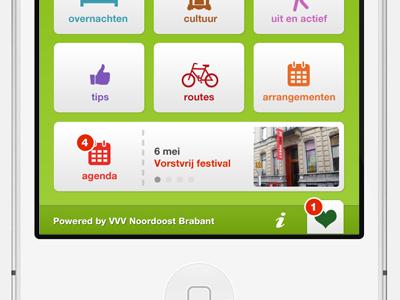 Tourism app springboard - bottom