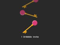 1 Dribbble Invite (the second)