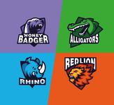 4 mascot logos
