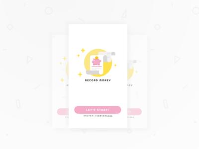 Account Book - Splash UI