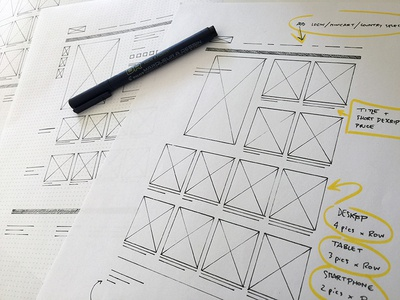Sketch Prototypes sketch sketches prototype wireframe grid drawing pen