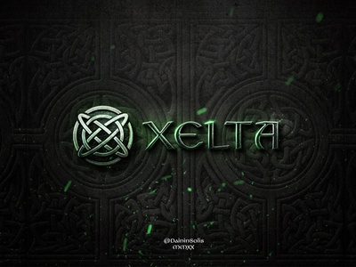 Xelta tatoo celtic runes runes druids vikings tribal 3d text logo game game logo logo gaming 3d logo logo typography photoshop style text style photo manipulation celtic knots celtic celta celt