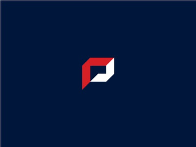 P mark final mark brand logotype logo managua nicaragua machinery grid construction p