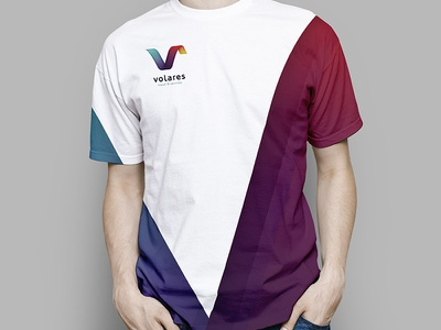 The old new one t shirt logotype identity gradient logo branding brand nicaragua managua colorful