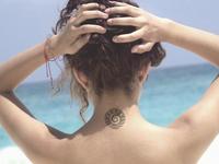Tribal Ocean Tattoo