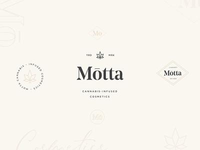 Motta Cosmetics - Logo system
