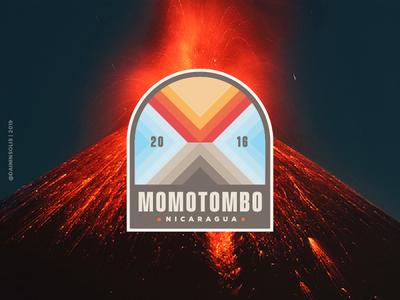Volcano badge