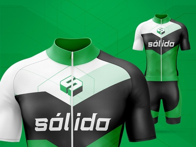Cycling jersey sport jersey green lines geometry managua nicaragua bicycles bicycle sport cycling uniform cycling jersey cycling kit jersey cycling