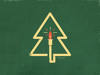 Xmas Tree xmas design holiday design holiday card holidays holiday xmas logo xmas tree xmas