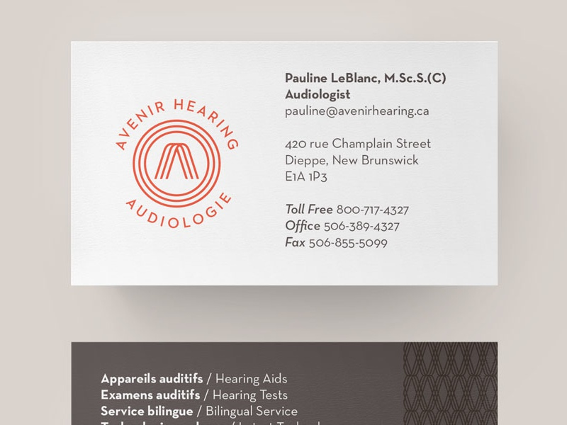 Avenir Business Card by Motto - Dribbble