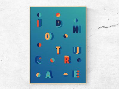 I donut care 3/3 (Poster)