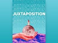 Juxtaposition Typo Poster