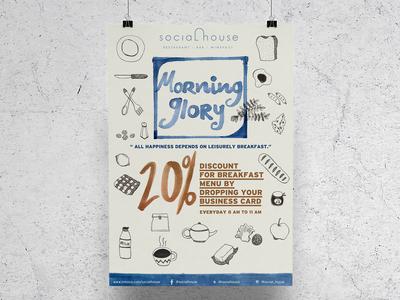 Social House Poster