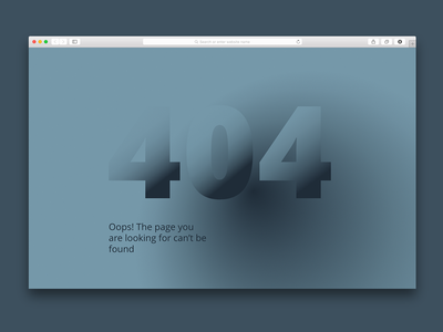 404 Page not found 2