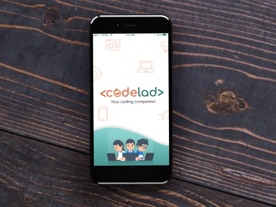 Codelad App UI illustration web app branding ux ui