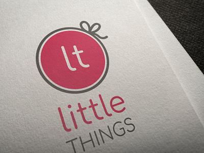 Little Things logo logo branding illustration