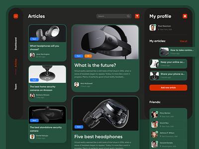 Dashboard dashboard design dashboard app dashboard ui dashboardui dashboard articles web concept webdesign uiux ux ui design