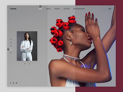 Fashion ux ux-ui ux ui ui homepagedesign homepage websitebanner banner website webshop beauty design web desgin fashion
