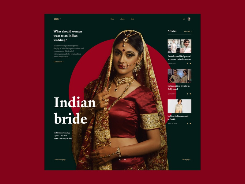 Indian Woman In Full Growth Pocessing concept indian culture indian fashion indian woman indian beautiful fashion bright colors uiux webdesign web bright color website ui ux design