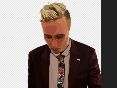 Created a little digital painting of myself