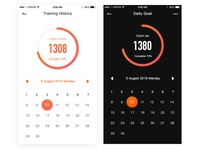fitness app page