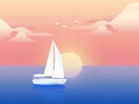 Illustration boat
