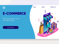 E-Commerce Web Page Design