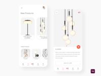 Home lighting app
