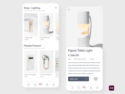 Shop app Minimalgoods